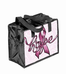 Ribbons of Hope Insulated Lunch Tote