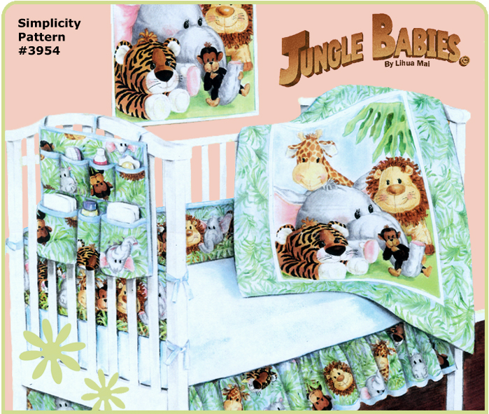 Jungle Babies Nursery Collection Jungle Babies Fabric